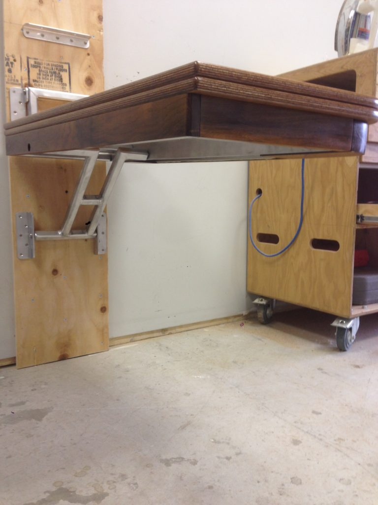 boat table starboard side