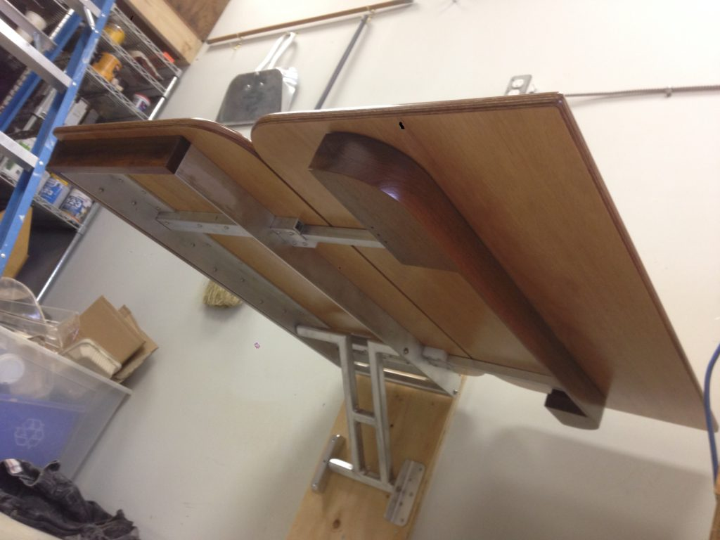 boat table underside